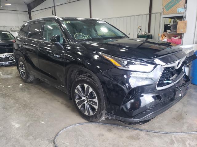 Carros híbridos a la venta en subasta: 2021 Toyota Highlander