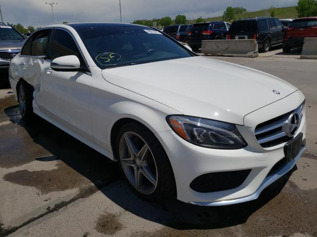Salvage cars for sale from Copart Littleton, CO: 2017 Mercedes-Benz C 300 4matic