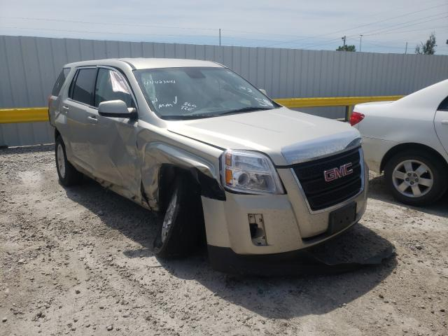 Salvage cars for sale from Copart Des Moines, IA: 2015 GMC Terrain SL