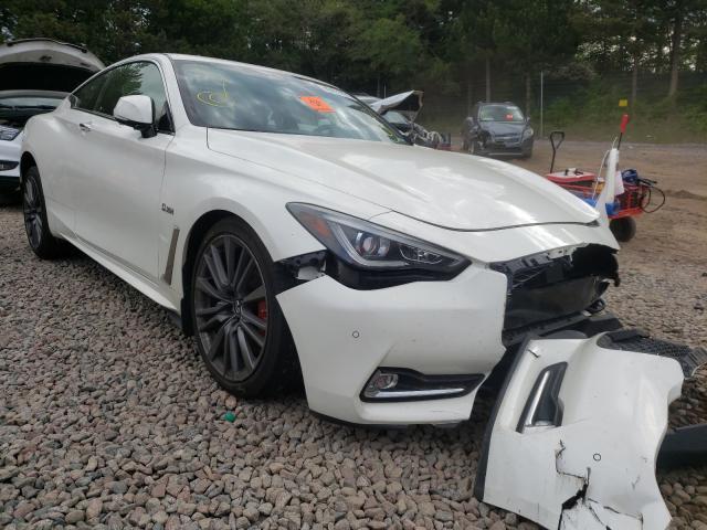 Vehiculos salvage en venta de Copart Ham Lake, MN: 2017 Infiniti Q60 RED SP