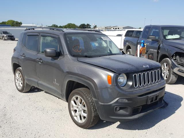 Salvage cars for sale from Copart Greenwood, NE: 2017 Jeep Renegade L