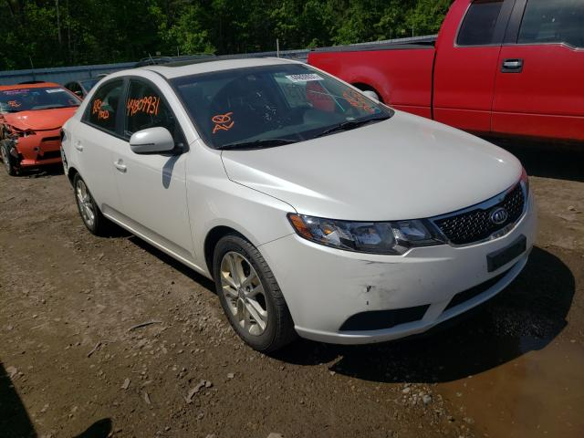 Salvage cars for sale from Copart Lyman, ME: 2012 KIA Forte EX