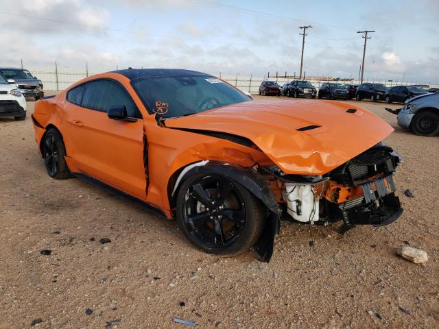 Salvage cars for sale from Copart Andrews, TX: 2021 Ford Mustang