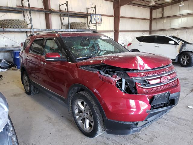 Salvage cars for sale from Copart Eldridge, IA: 2013 Ford Explorer L