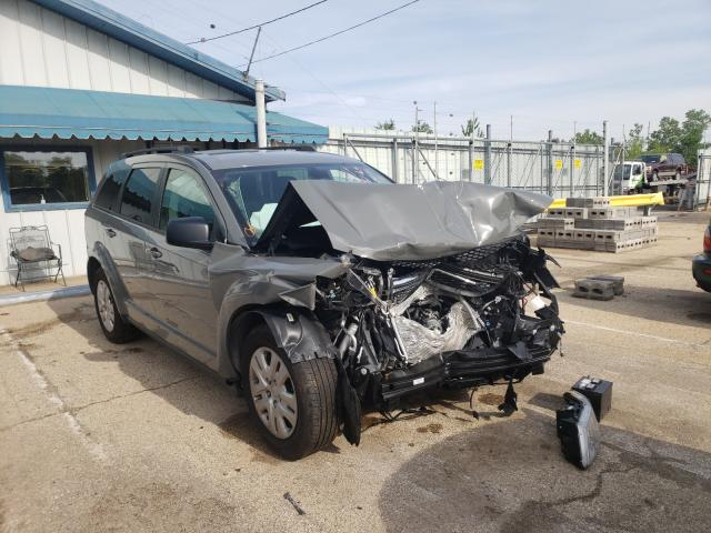 Salvage cars for sale from Copart Pekin, IL: 2020 Dodge Journey SE