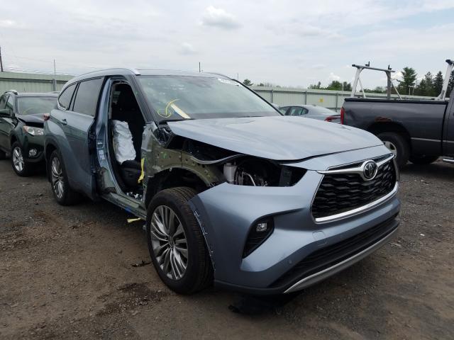 2021 Toyota Highlander en venta en Pennsburg, PA