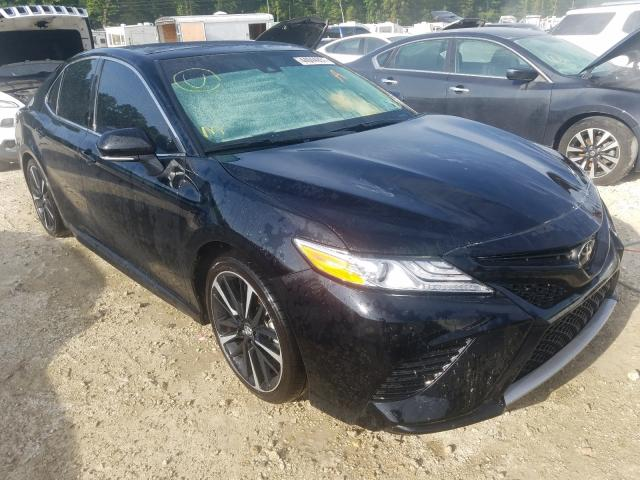 Salvage cars for sale from Copart Greenwell Springs, LA: 2020 Toyota Camry XSE