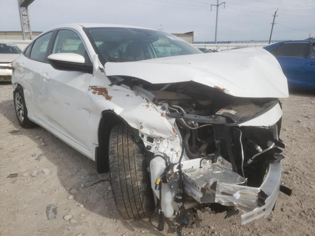Salvage cars for sale from Copart Columbus, OH: 2017 Honda Civic LX