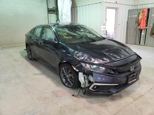 Salvage cars for sale from Copart Leroy, NY: 2020 Honda Civic EX