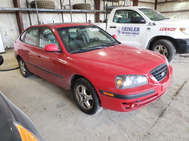 Hail Damaged Cars for sale at auction: 2004 Hyundai Elantra GL