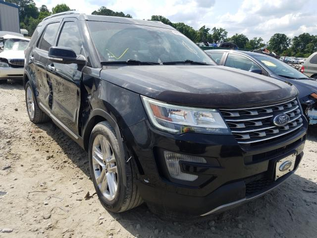 Salvage cars for sale from Copart Ellenwood, GA: 2016 Ford Explorer L