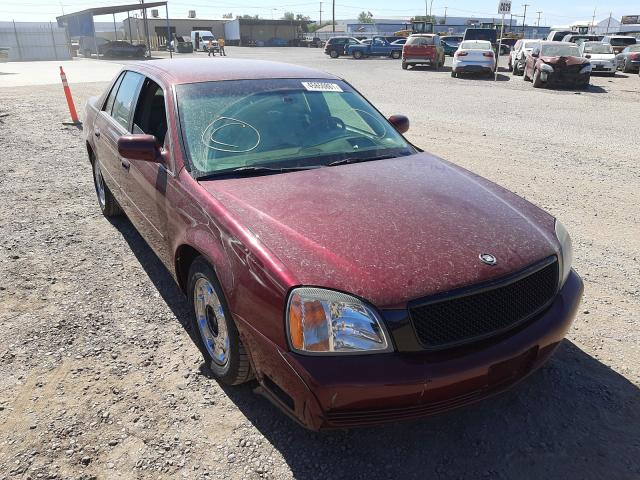 Salvage cars for sale from Copart Phoenix, AZ: 2001 Cadillac Deville DH