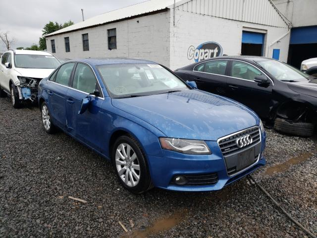 Salvage cars for sale from Copart Hillsborough, NJ: 2009 Audi A4 Premium