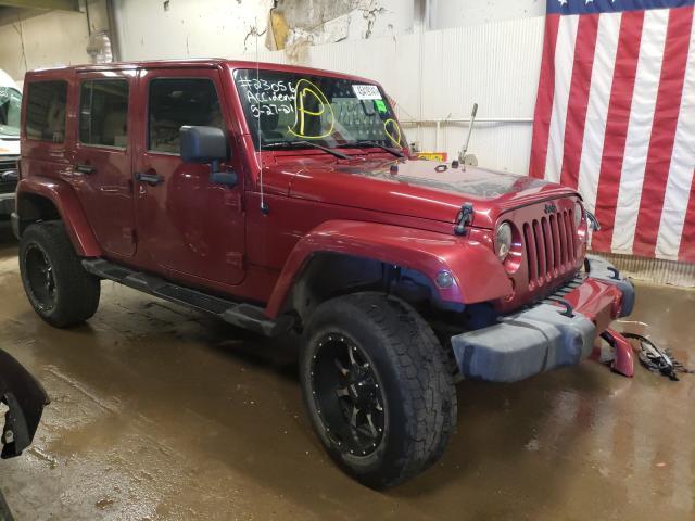 2012 Jeep Wrangler U en venta en Casper, WY