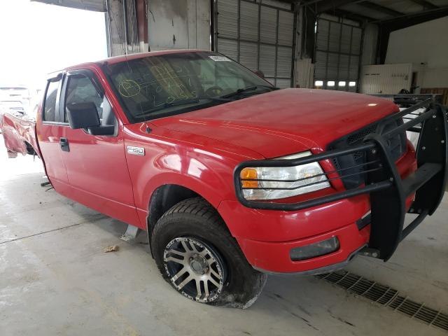 Salvage trucks for sale at Montgomery, AL auction: 2005 Ford F150