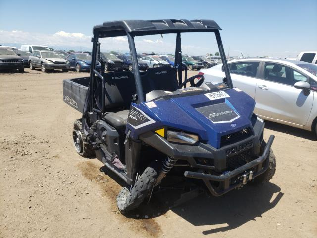 Salvage cars for sale from Copart Brighton, CO: 2018 Polaris Ranger 570
