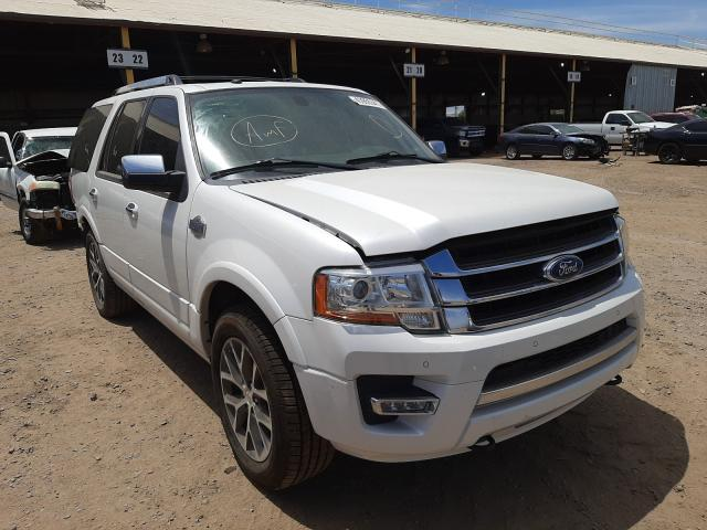 Salvage cars for sale at Phoenix, AZ auction: 2016 Ford Expedition