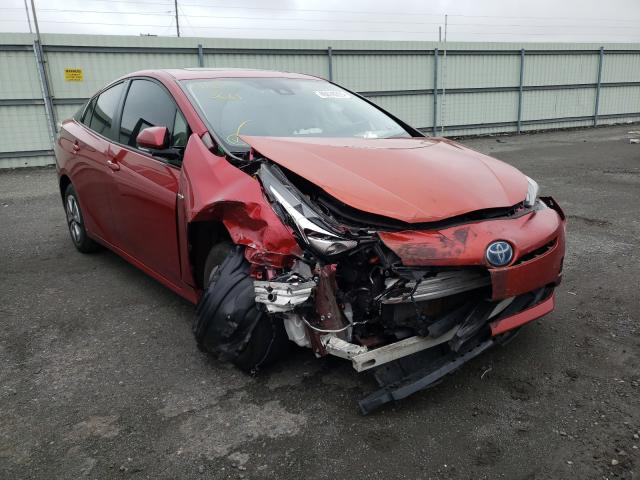 Salvage cars for sale from Copart Pennsburg, PA: 2017 Toyota Prius