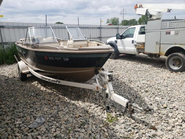 Lund salvage cars for sale: 1995 Lund Boat