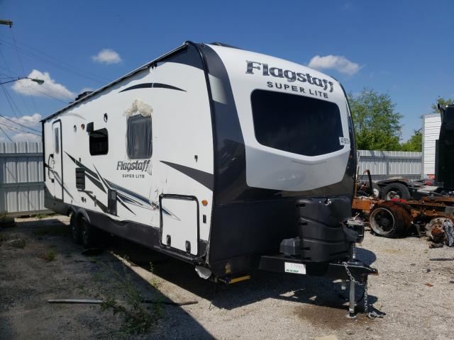 Salvage cars for sale from Copart Fort Wayne, IN: 2021 Flagstaff Travel Trailer