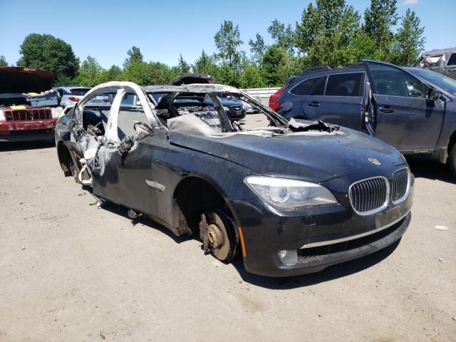 BMW Vehiculos salvage en venta: 2011 BMW 740 LI