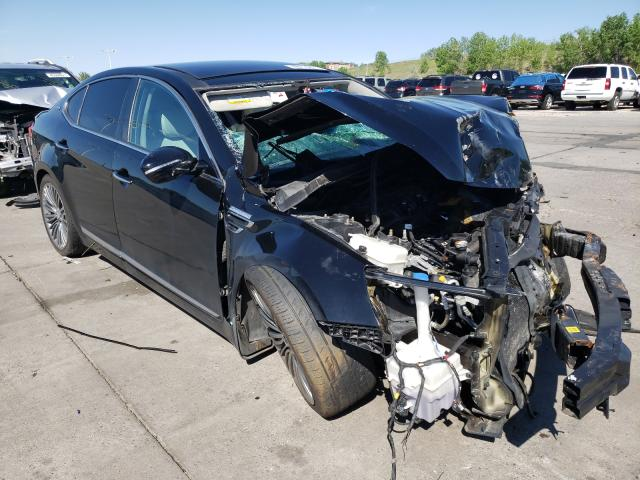 KIA salvage cars for sale: 2016 KIA Cadenza LU