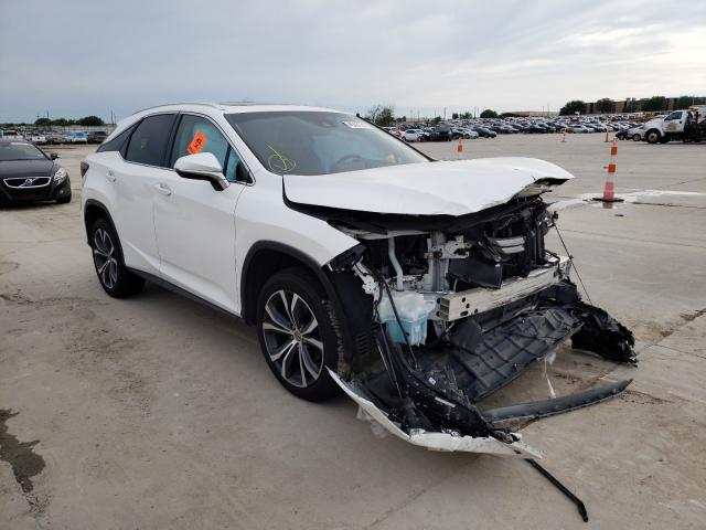 Salvage cars for sale from Copart Grand Prairie, TX: 2017 Lexus RX 350 Base