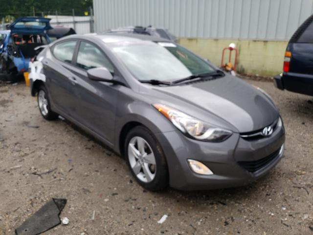 Salvage cars for sale from Copart Hampton, VA: 2013 Hyundai Elantra GL