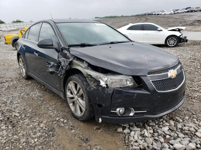 Salvage cars for sale from Copart Earlington, KY: 2014 Chevrolet Cruze LTZ