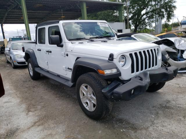 Salvage cars for sale from Copart Riverview, FL: 2020 Jeep Gladiator