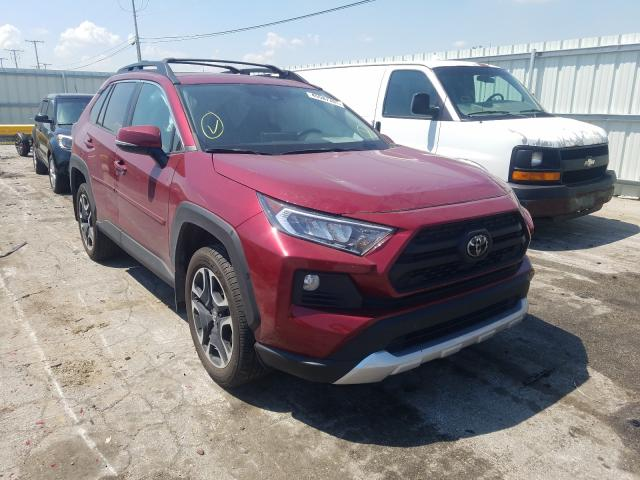 Salvage cars for sale from Copart Dyer, IN: 2019 Toyota Rav4 Adven