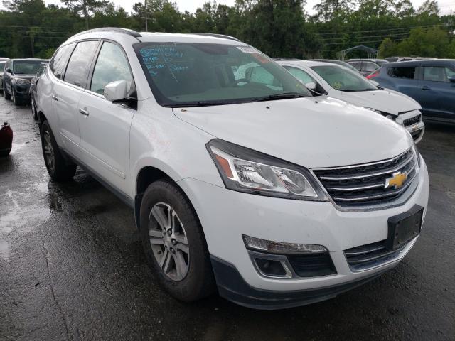 Vehiculos salvage en venta de Copart Savannah, GA: 2016 Chevrolet Traverse L