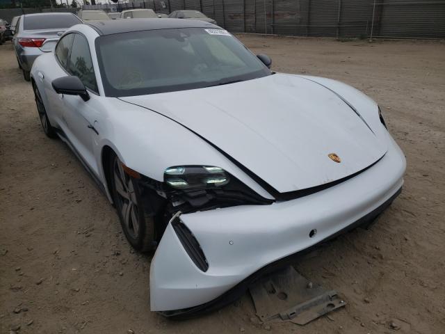 Vehiculos salvage en venta de Copart Los Angeles, CA: 2020 Porsche Taycan 4S
