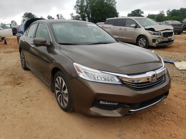 Salvage cars for sale from Copart China Grove, NC: 2017 Honda Accord TOU