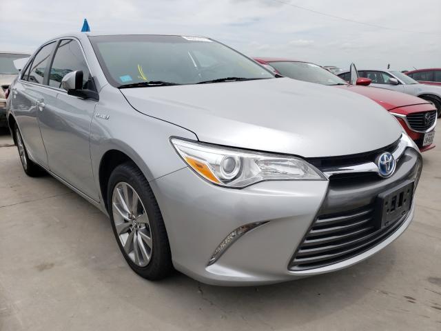 2016 Toyota Camry Hybrid en venta en Grand Prairie, TX