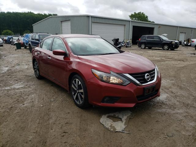 Salvage cars for sale from Copart Hampton, VA: 2017 Nissan Altima 2.5