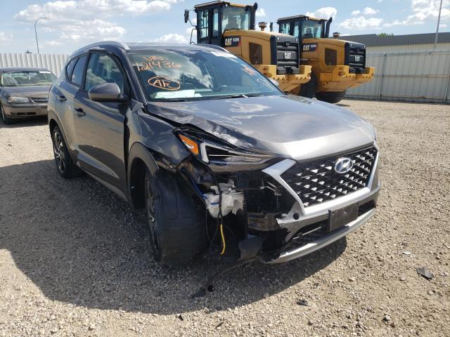 Vehiculos salvage en venta de Copart Bismarck, ND: 2020 Hyundai Tucson Limited