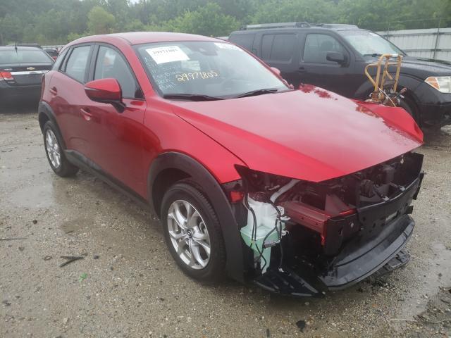 Salvage cars for sale from Copart Hampton, VA: 2021 Mazda CX-3 Sport