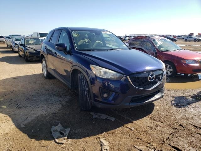 Salvage cars for sale from Copart Amarillo, TX: 2014 Mazda CX-5 GT