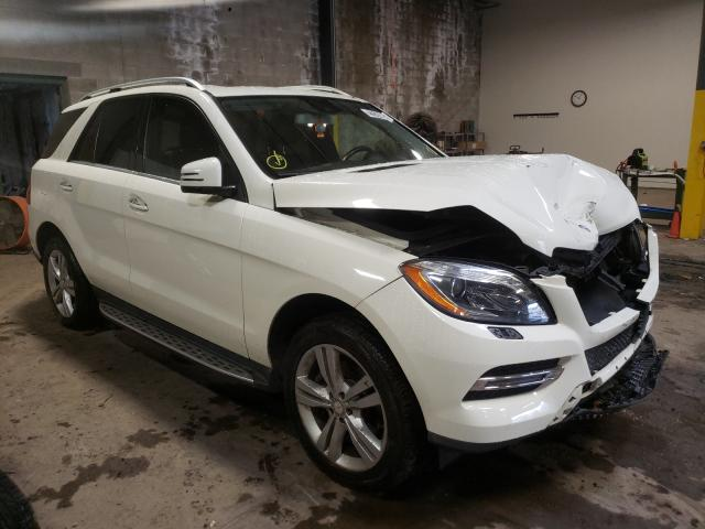 Salvage cars for sale from Copart Chalfont, PA: 2013 Mercedes-Benz ML 350 4matic