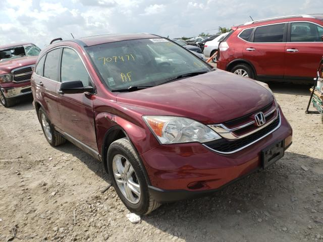Vehiculos salvage en venta de Copart Kansas City, KS: 2010 Honda CR-V EX