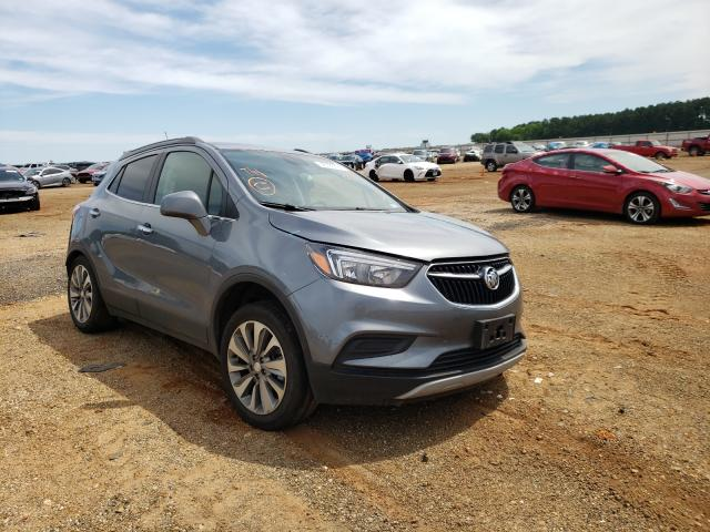 Salvage cars for sale from Copart Longview, TX: 2020 Buick Encore PRE