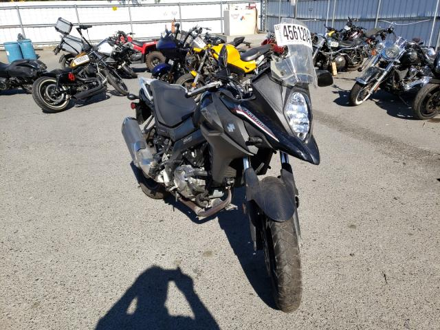 Salvage cars for sale from Copart Sacramento, CA: 2018 Suzuki DL650 A
