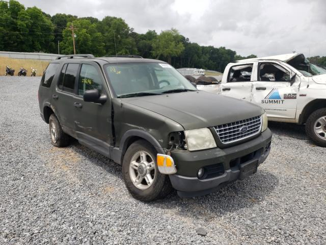 Salvage cars for sale from Copart Gastonia, NC: 2003 Ford Explorer X