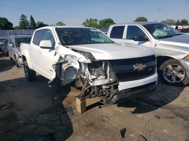 Salvage cars for sale from Copart Cudahy, WI: 2016 Chevrolet Colorado Z