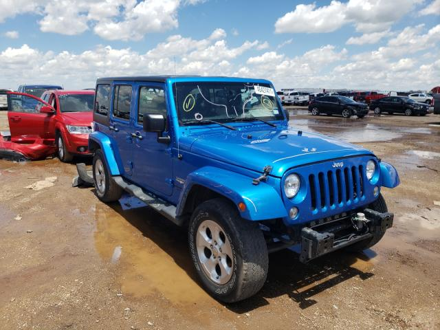 Salvage cars for sale from Copart Amarillo, TX: 2015 Jeep Wrangler U