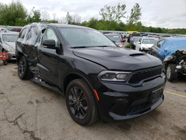 Salvage cars for sale from Copart Angola, NY: 2021 Dodge Durango GT