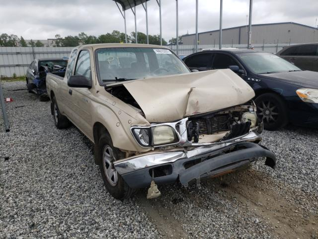 Salvage cars for sale from Copart Spartanburg, SC: 2003 Toyota Tacoma XTR