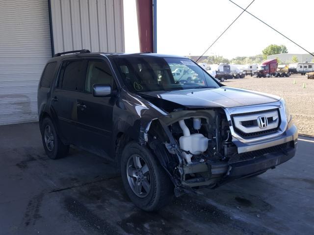 Vehiculos salvage en venta de Copart Billings, MT: 2009 Honda Pilot EXL