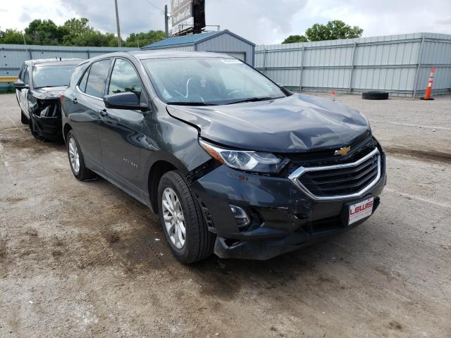 Salvage cars for sale from Copart Wichita, KS: 2018 Chevrolet Equinox